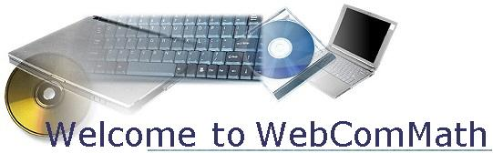 Welcome at WebComMath